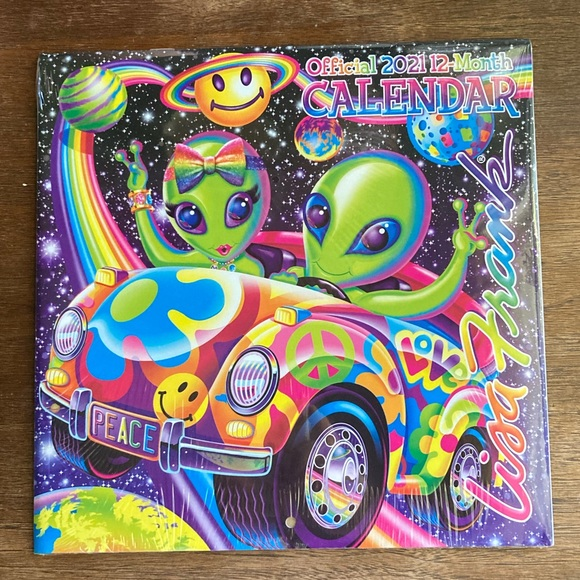 Lisa Frank Office | 2021 Calendar New In Package | Poshmark